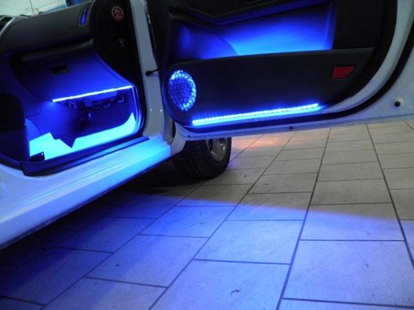 Подсветка салона для автомобиля своими руками